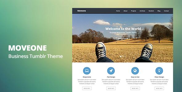 Moveone - Business Responsive Tumblr Theme