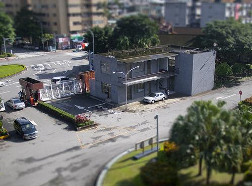 超逼真模型: 公館替代役中心的憲兵警衛室