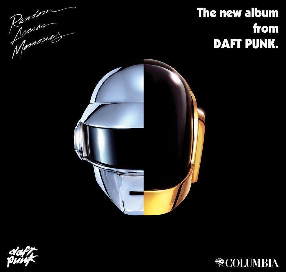 向 Daft Punk《Random Access Memories》新專輯致敬
