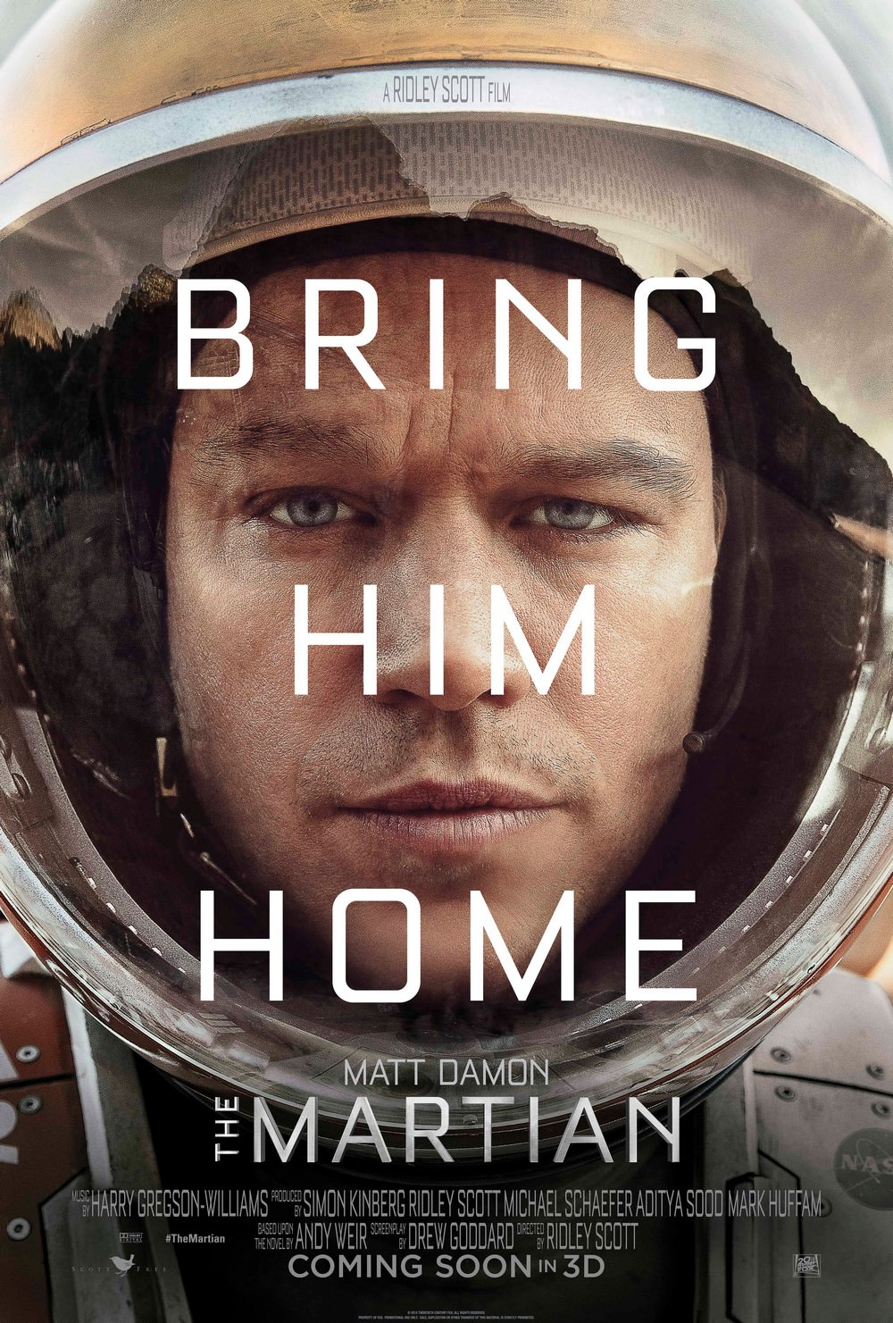 Movie-Poster-The-Martian-Bring-Him-Home-Font-Teaser-One-Sheet