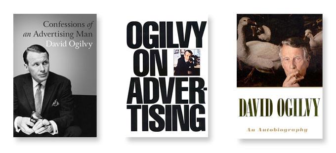 三本大衛奧格威最有名的著作書籍封面