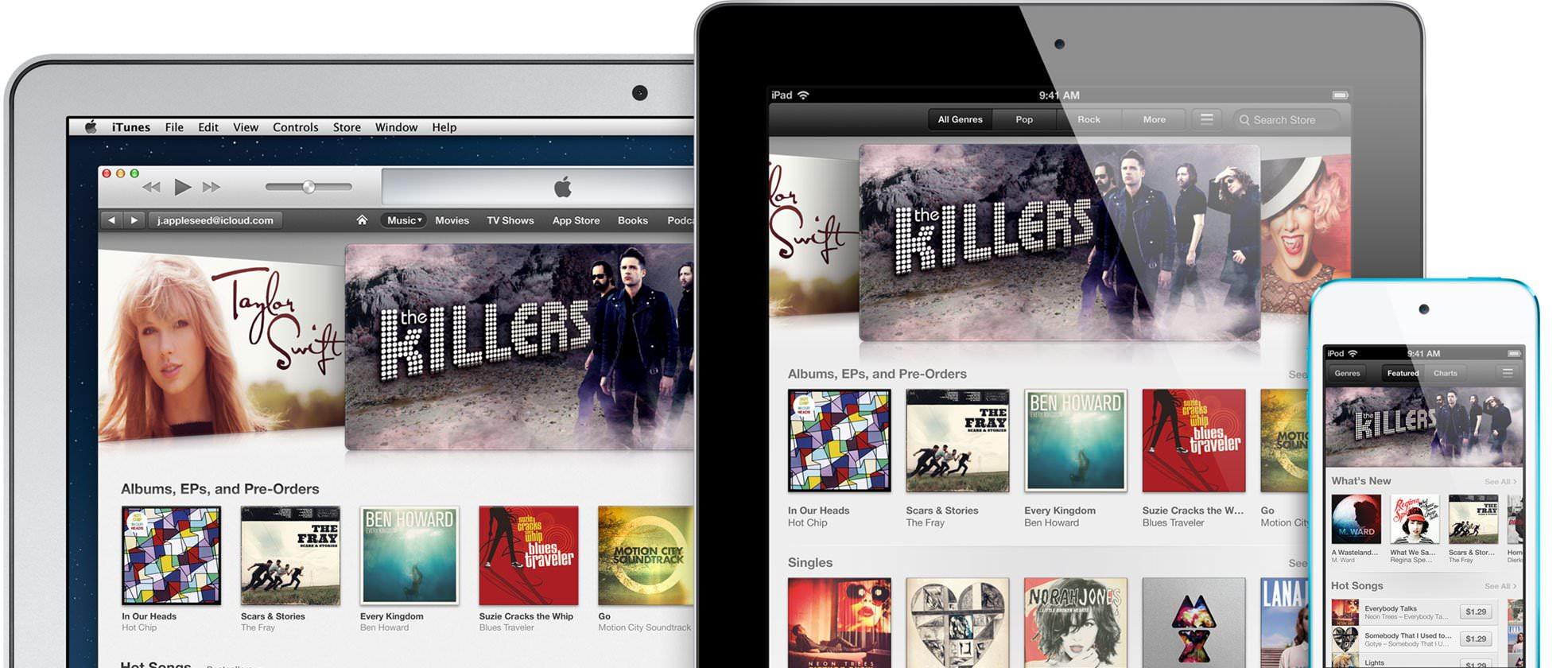 為什麼我喜歡在 iTunes Store 上面買音樂?